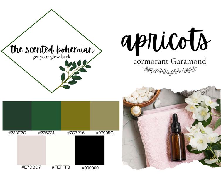 The Scented Bohemian Branding Palette.pn