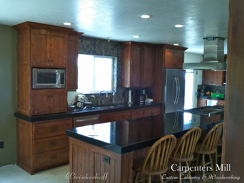 Brinkerhoff Carpenters Mill Custom Cabinets Orem Utah