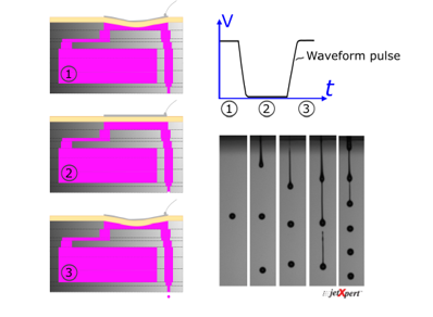 Waveform as a Tool for Industrial Inkjet Printing