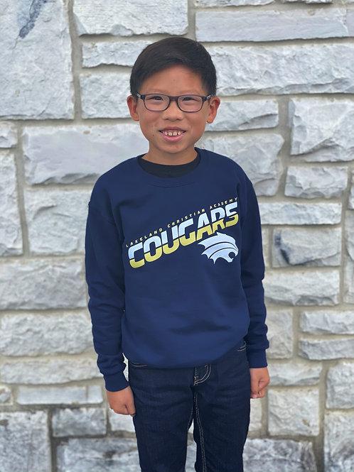 Child Navy Crewneck Sweatshirt