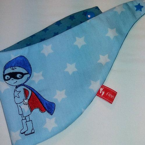Baby-Halstuch Kinderhalstuch Sabberschutz kleiner Supermann