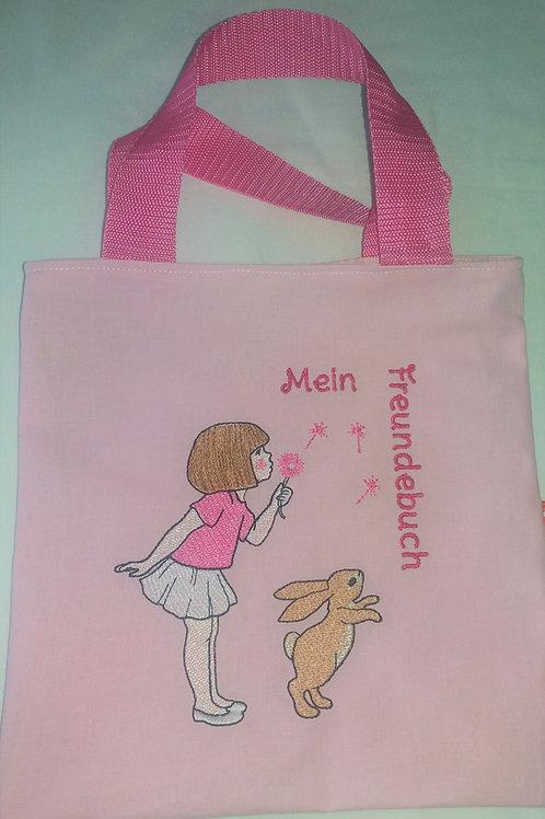 Freundebuchtasche Freundebuch-Tasche Meine Freunde Belle und Boo