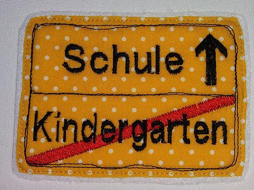 Kindergarten ist Geschichte-ab in die Schule