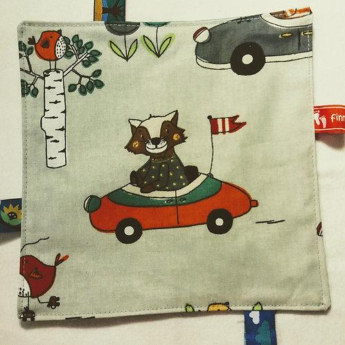 Knistertuch Schmusetuch Babyspieltuch Fuchs und Hase