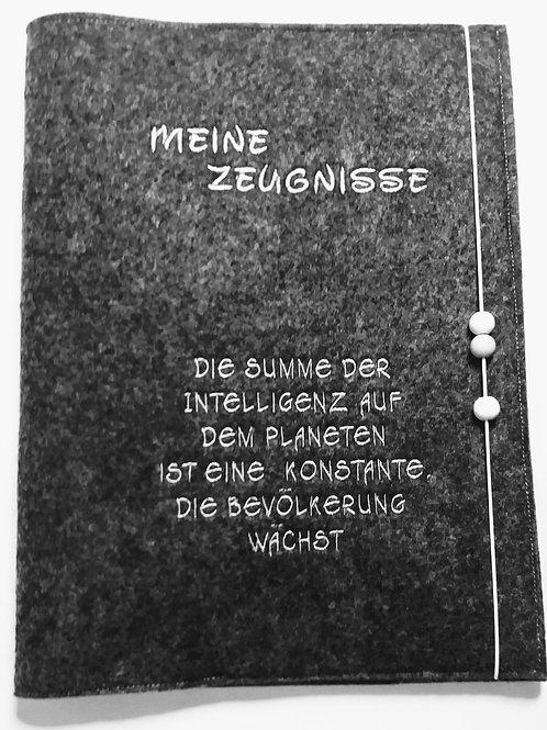 Zeugnismappe  inkl.  DIN-A4 Sichtbuch Dokumentenmappe  Zeugnishülle Zeugnisse