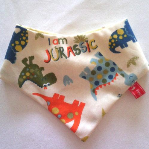 Baby-Halstuch Kinderhalstuch Sabberschutz Drachen Dinos