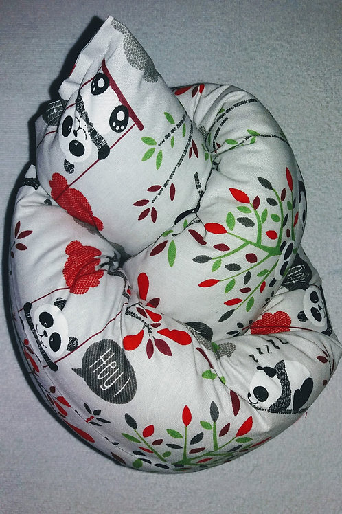 Lagerungshilfe Bettschlange Nestchen Bettwurst Pandabär