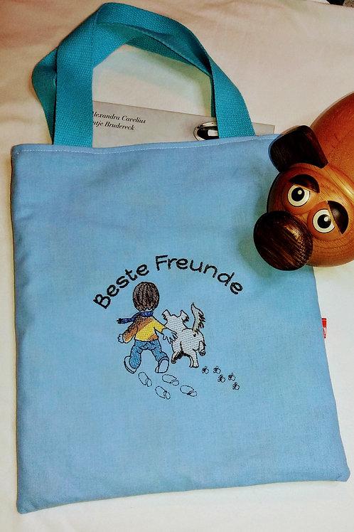 Freundebuchtasche Freundebuch-Tasche Meine Freunde Beste Freunde