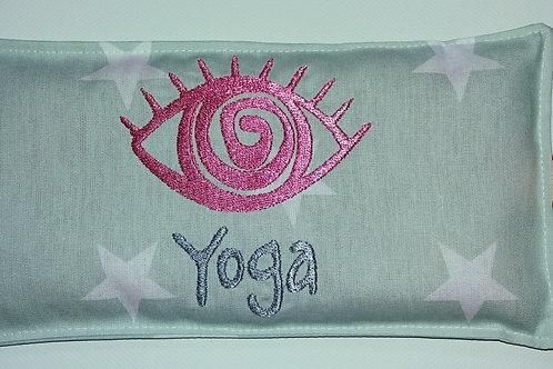 Yoga-Augenkissen Wärmekissen Augensäckchen mit einem Hauch Lavendel Yogakissen