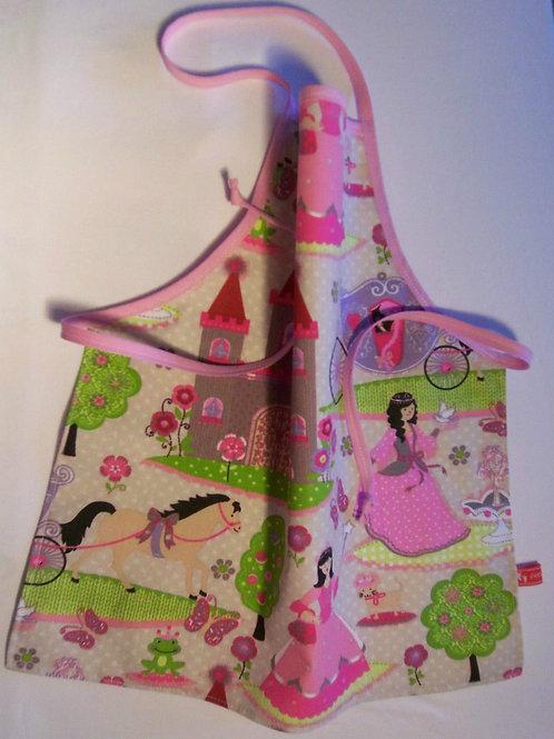 Kinderschürze Kochschürze Bastelschürze Prinzessin