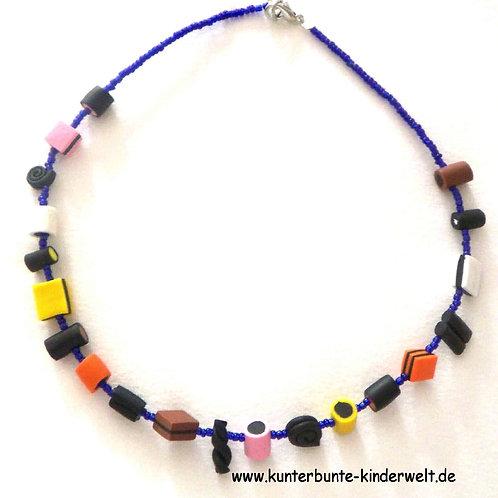 Mädchen-Halskette, Lakritzkonfekt-Halskette Haribokette