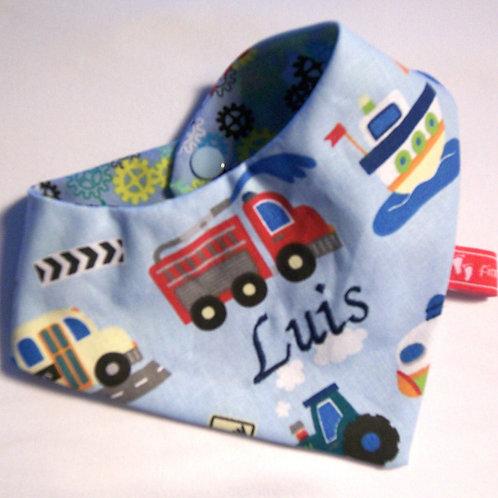 Baby-Halstuch Kinderhalstuch Sabberschutz Fahrzeuge