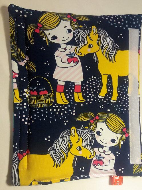 Gurtpolster Sicherheits-Gurtpolster Girl & Pony Polsterschoner Gurtschoner