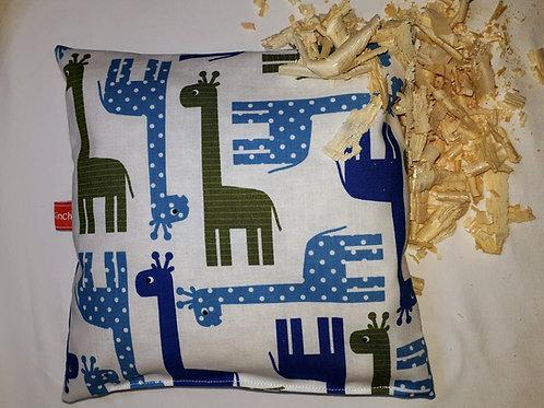 Zirbenkissen  Elefanten, Zirbenholzkissen, Giraffen