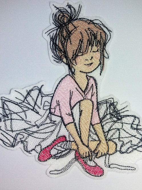 kleine Ballerina, Tänzerin, rosa, Ballett