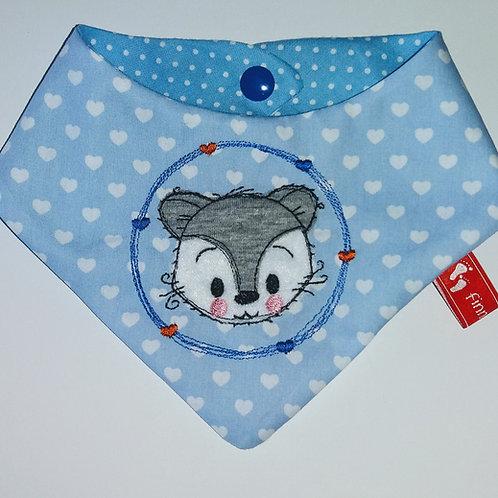 Baby-Halstuch Kinderhalstuch Sabberschutz Fuchs Baumwolle