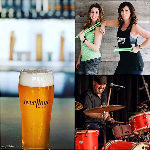 Overflow Brewing Co - March 18th, 7pm