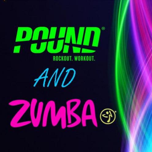 Pound/Zumba Glow - Jan 10th 7pm