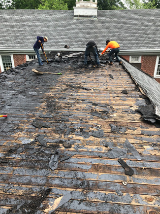 CHURCH ROOF REMOVAL