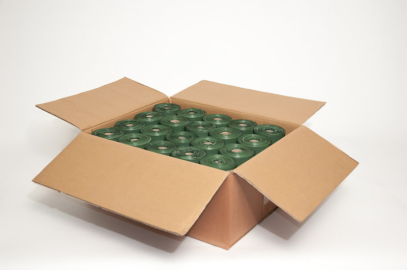 Case of 6,000 PFP300 Biodegradable Medium Roll Bags