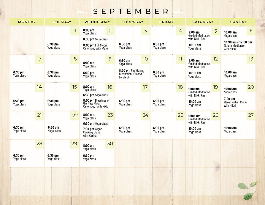 Aguacate_monthly calendar -September2020