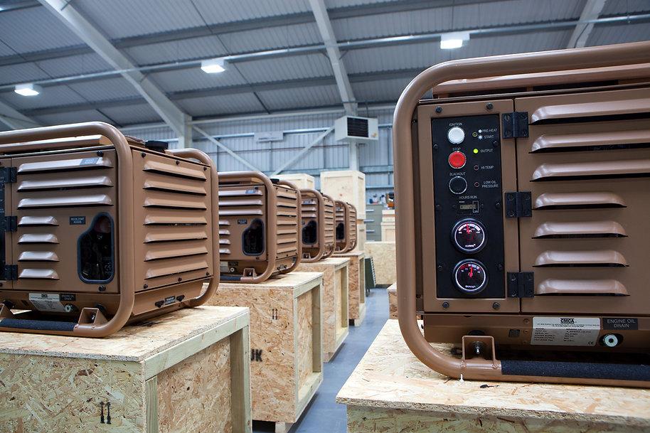 Air Cooled DC Military Diesel Generator
