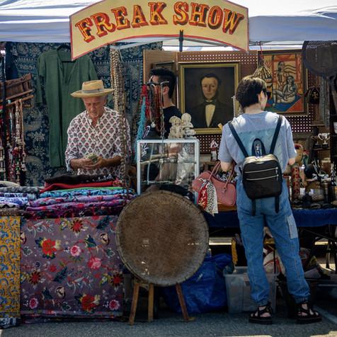 Santa Monica Airport Antique Market