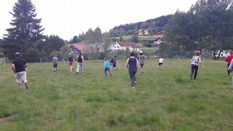 biathlon sport de nature en famille
