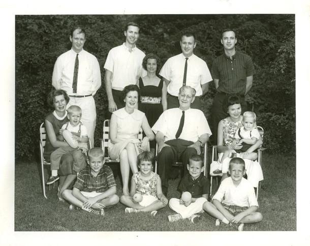 Gergen family in North Carolina