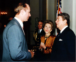 President and Mrs. Reagan