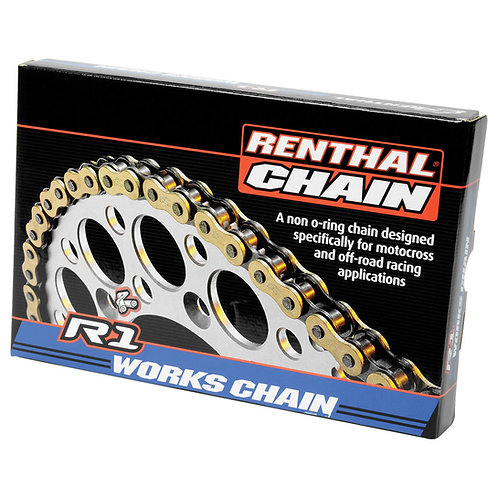 Renthal 420 R-1 Works Non O-ring Gold Chain