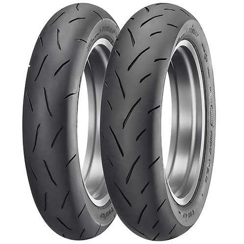 Dunlop TT93 GP Mini Race Tire  Set 100/90-12 & 120/80-12