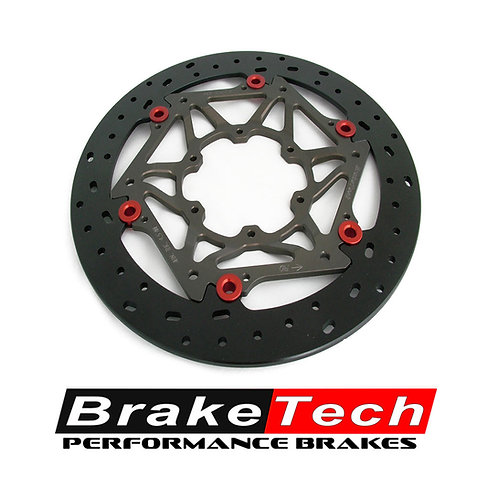 Braketech Axis Iron Supermoto 245mm Oversize Brake Rotor Only for CRF150R / CR85