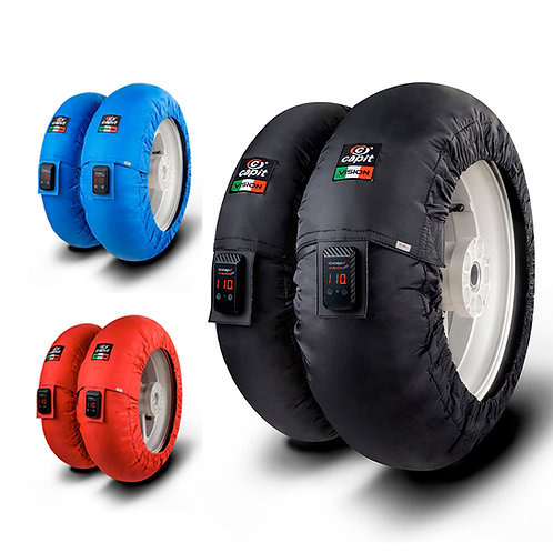 "Capit 10"" Mini Vision Tire Warmers for Minimoto, MiniGP, Ohvale GP-0, Bucci BR10"