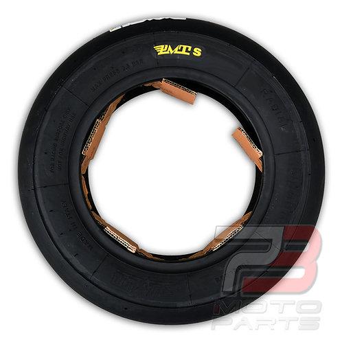"""10"""" PMT 110/80R10 for Ohvale GP0 Bucci MiniGP Scooter Soft Compound Slick Tire"""