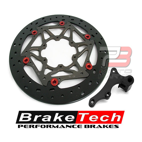 Braketech Axis Iron Supermoto 245mm Oversize Brake Rotor Kit for CRF150R / CR85