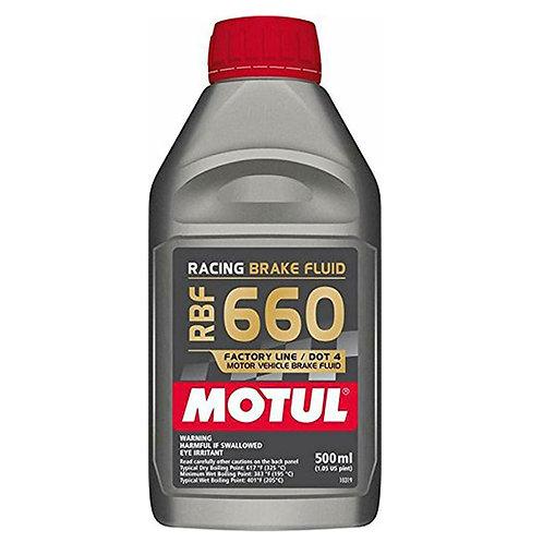 Motul RBF 660 DOT 4 Synthetic Brake Fluid 16.9 oz