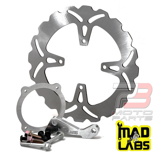 "MadLabs Oversize Radial Mount Big Brake Kit for CRF150R and CR85 (12"" Mag Wheel)"