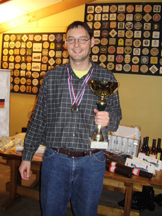 Thomas Kinback, ganador del Torneo