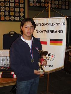 Diego Meza, mejor juvenil