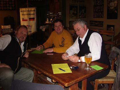 Georg Wammes, Eugen Baumann y Pedro Reic