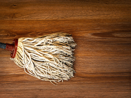 Oh Be Gentle!  #How to care for your wood floors