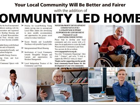 COMMUNITY LED HOMES