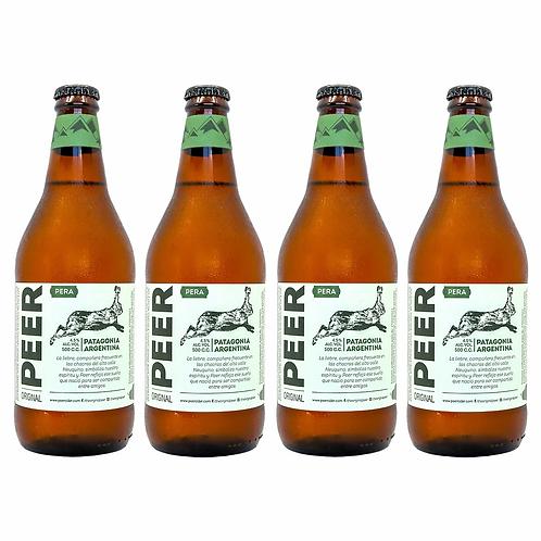 Sidra Peer de Peras - Pack 12 Botellas