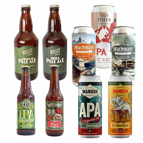 Combo IPA + APA - 9 Cervezas