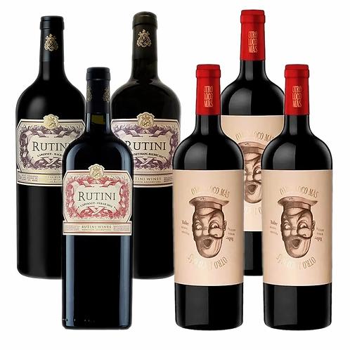 Combo Vinos De Lujo #2 - 6 botellas