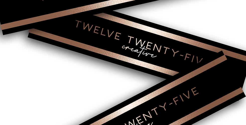 Bundle Hair Wrap/ Tag Design
