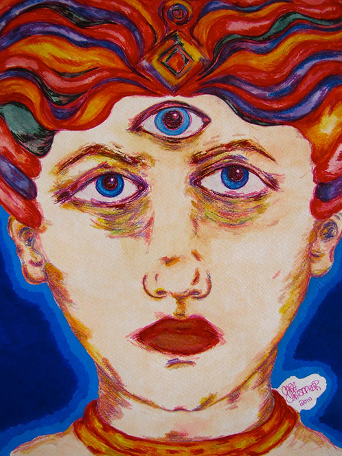 ORIGINAL - Third Eye Genie Head