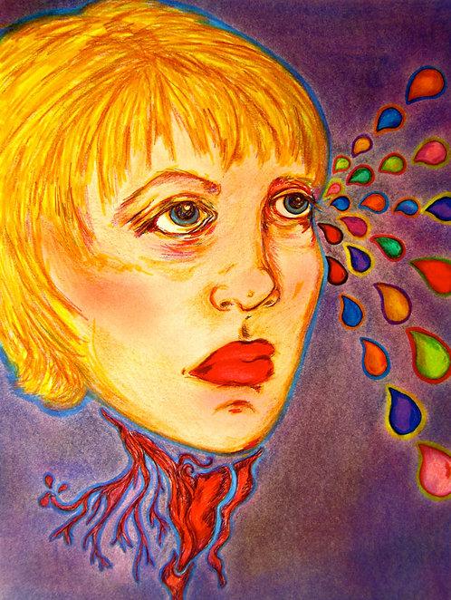 ORIGINAL - Blond Severed Head