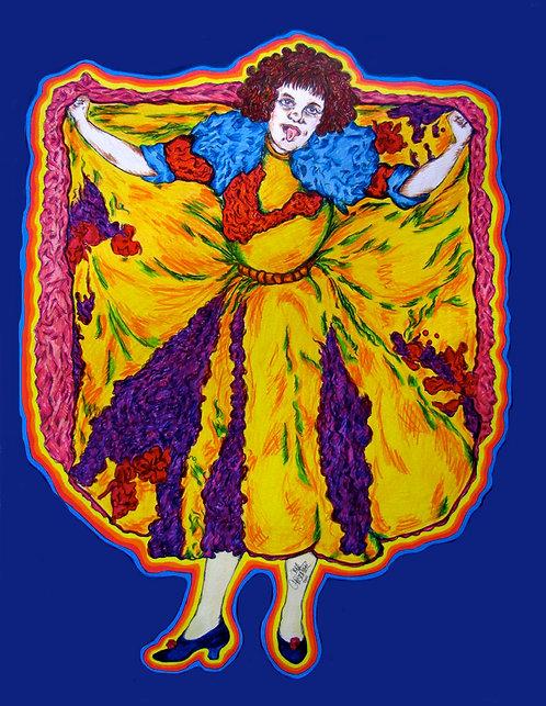 5x7 Print - Vintage Dancer